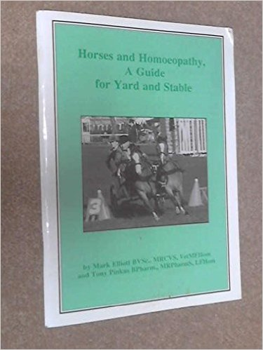 Homeopathy For Horses Book